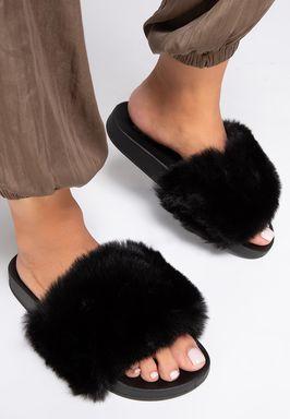 Papuci dama Aleosa Negri