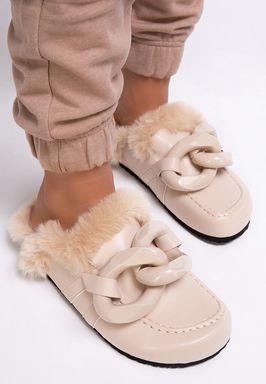 Papuci dama Edith Bej