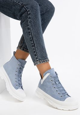 Sneakers High-Top Mitera Albastri